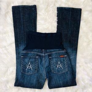 7 For All Mankind A Pocket Bootcut Maternity